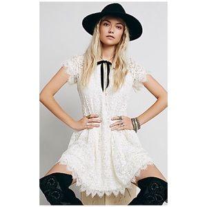 Free People Stardust lace dress